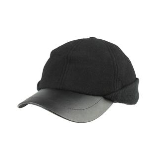 3508-Men's Wool Cap W/Warmer Flap