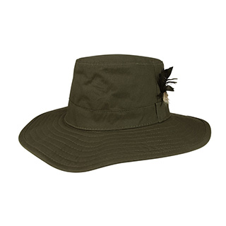 J9705-Juniper Waxed Cotton Canvas Men's Western Hat