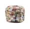 Front - 9047-Fashion Plaid Army Cap