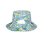 Back - 6556-Ladies' Floral Reversible Bucket Hat