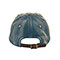 Back - 6876-Low Profile (Uns) Washed Denim Cap