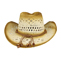 Back - 8173-Outback Paper Straw Cowboy Hat