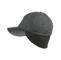 Side - 3508-Men's Wool Cap W/Warmer Flap