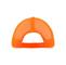 Back - 9006NM-5 Panel Pro Style (Str) Neon Orange Trucker Cap