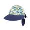 Quarter - 7671A-Ladies' Printed Flower Large Peak Hat