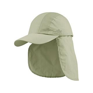 J7238-Juniper Taslon UV Cap w/ Detachable Flap