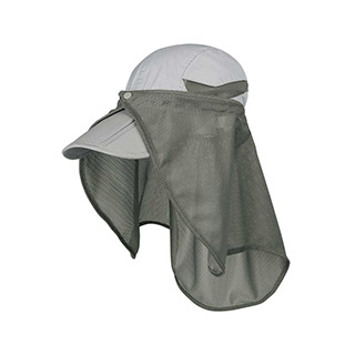 J7240-Juniper Nylon UV Folding Bill Cap