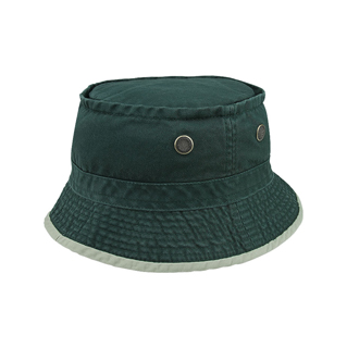 7832-Normal Dyed Twill Heavy Washed Bucket