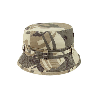7860-COTTON TWILL WASHED BUCKET HAT