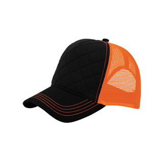 6878B-Fashion Quilted Trucker Cap