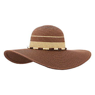 8231-Ladies' Toyo Braid Two Tone Sun Hat