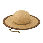 Ladies' Toyo Braid Color Block Sun Hat
