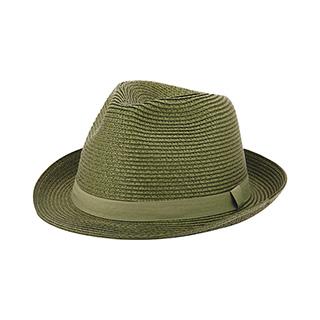 8955-Toyo Braid Fedora Hat