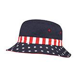 USA Flag Bucket Hat