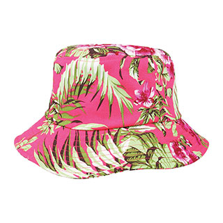 7801H-Floral Bucket Hat