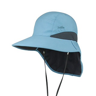 J7249-Microfiber UV Large Bill Cap