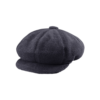 3020-Fleece Winter Newsboy Cap