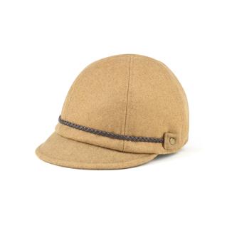 3514-Ladies' Wool Jockey Cap