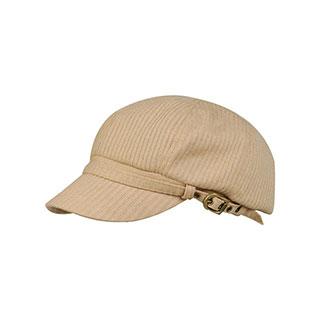 3518-Ladies' Fashion Knitted Wool Newsboy Cap