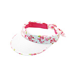 Ladies' Floral Visor