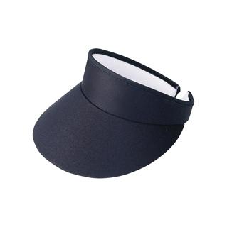 4103-High Crown Cotton Twill Golf Clip-On Visor