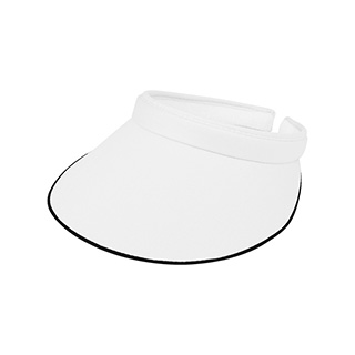 4115-Cotton Twill Clip-On Visor