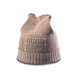 Wool Blend Knitted Beanie