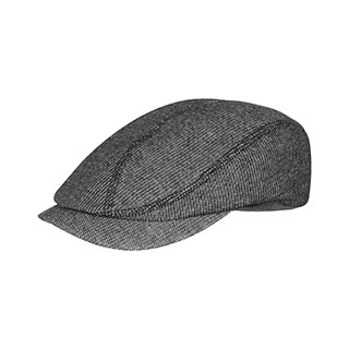 2147-Marled French Terry Cotton Ivy Cap