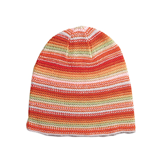 5052A-Ladies' Crocheted Knitted Beanie