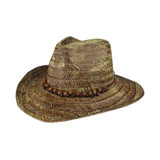 c347a5dd612f5 Wholesale Western Tea Stained Straw - Cowboy Straw Hats - Straw Hats - Mega  Cap Inc