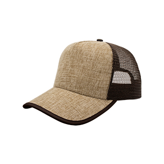8411B-Straw Trucker Cap