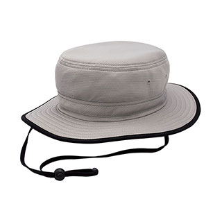 J7270-3D Grid-Textured Cool & Dry Performance Bucket Hat