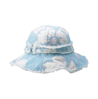 6541-Print Canvas Ladies' Hat