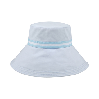 6583-Ladies' Brushed Cotton Canvas Wide Brim Bucket Hat