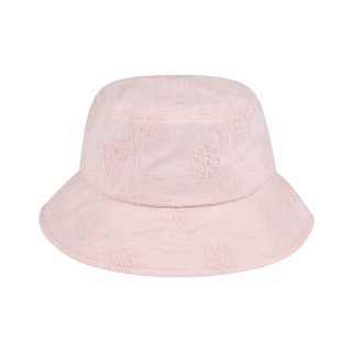 6586-Ladies' Embroidered Cotton Fashion Bucket Hat
