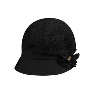 6595-Ladies' Jacquard Mesh Fashion Hat