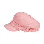 Ladies' Brushed Canvas Newsboy Hat
