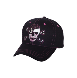 6857-Low Profile (Str) Fashion Cap W/ Fiber Optic Lights
