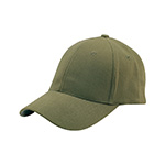 Mega Flex Low Profile (Structured) Brushed Twill Fitted Cap