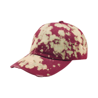 6877-Low Profile (Uns) Drop Dye Cotton Twill Cap