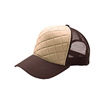 Fashion Quilted Trucker Cap
