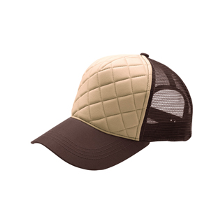 6878-Fashion Quilted Trucker Cap