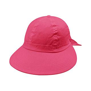 6907B-Ladies' Large Peak Hat W/Bow Tie