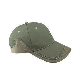 6930-Low Profile (Str) Brushed Canvas Cap