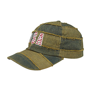6948-Low Profile (Uns) Washed Denim Cap