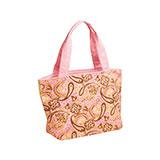 Paisley Print Canvas Tote Bag