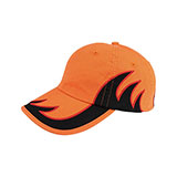 Low Profile (Uns) Washed Cotton Twill Flame Cap