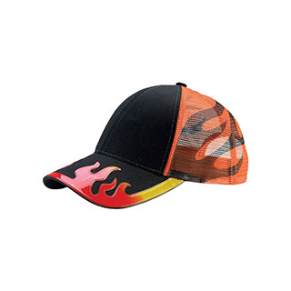 6982-Flame Trucker Cap