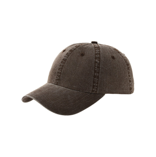 6989-Low Profile (Uns) Pigment Dyed Twill Washed Cap