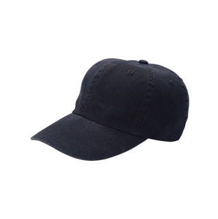 7652-Low Profile (Uns) Dyed Cotton Twill Washed Cap